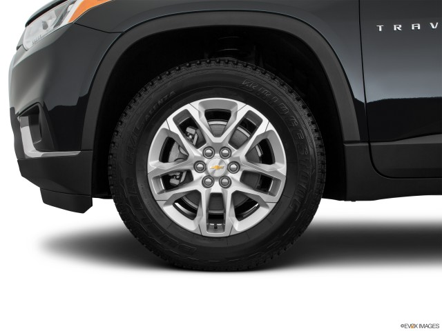Front Drivers side wheel at profile.