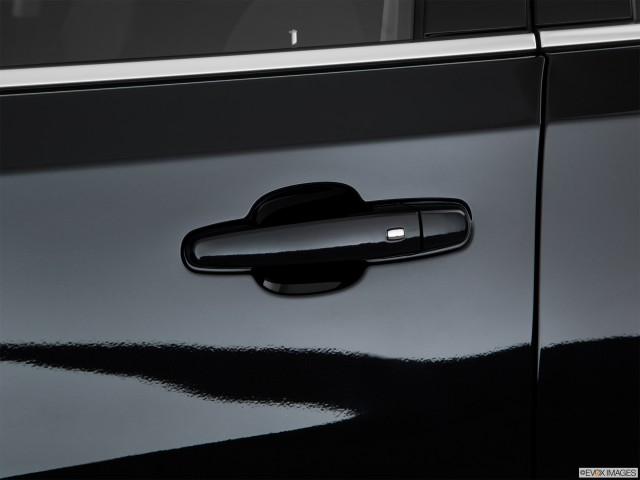 Drivers Side Door handle.