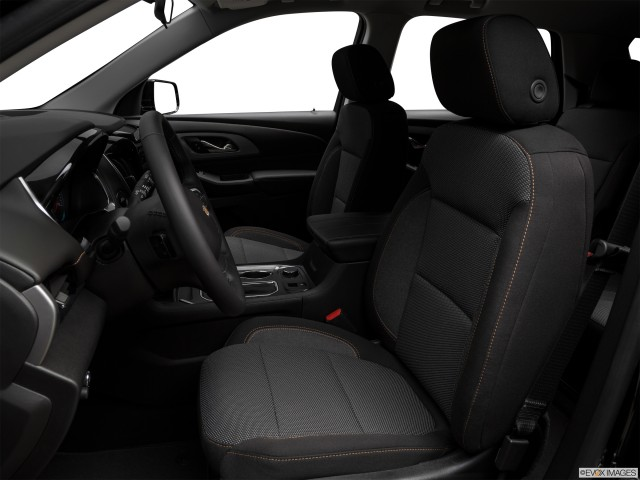 Front seats from Drivers Side.
