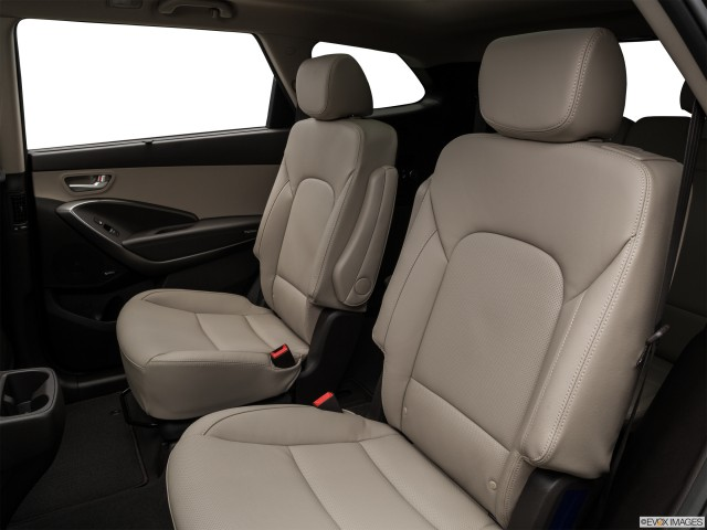Rear seats from Drivers Side.