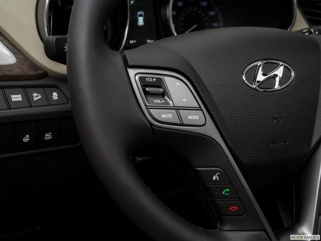 Steering Wheel Controls (Left Side)