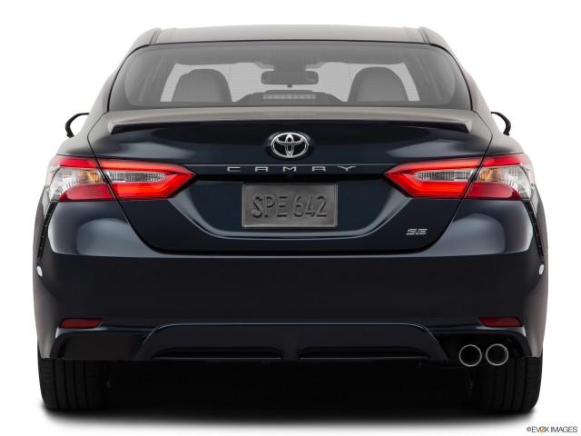 Low/wide rear.