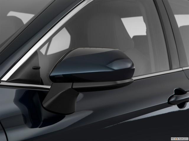 Drivers side mirror, rear