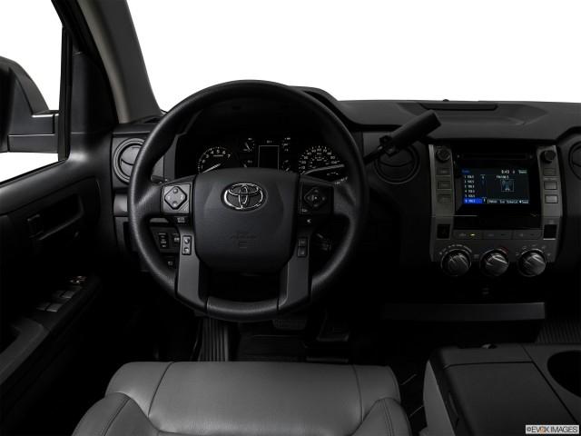 Steering wheel/Center Console.