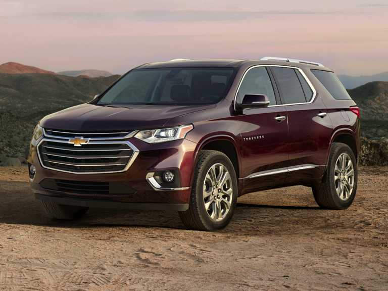 2018 Chevrolet Traverse Front-wheel Drive L 1300-OEM Exterior 3/4 Front Left-Facing Primary
