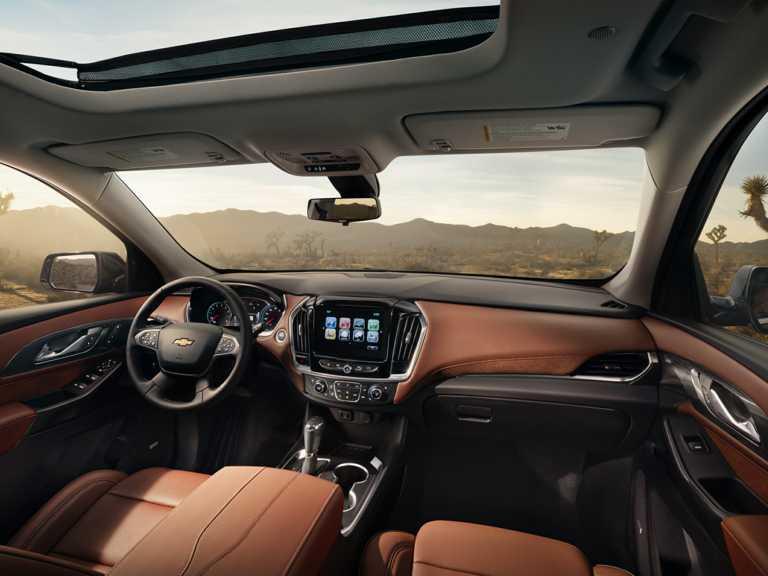 2018 Chevrolet Traverse Front-wheel Drive L 1350-OEM Interior Dash Primary