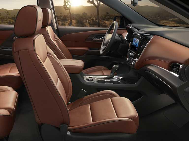 2018 Chevrolet Traverse Front-wheel Drive L 1351-OEM Interior Front Seats