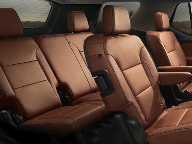 2018 Chevrolet Traverse Front-wheel Drive L 1352-OEM Interior Rear Seats