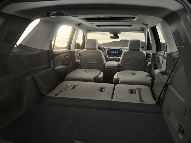 2018 Chevrolet Traverse Front-wheel Drive L 1353-OEM Interior Rear Cargo