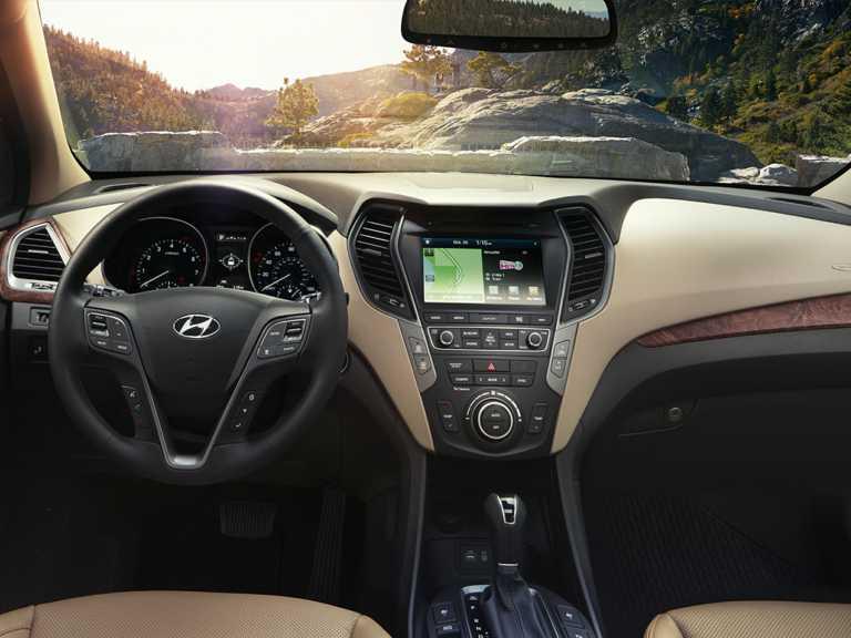 2018 Hyundai Santa Fe 4dr Front-wheel Drive SE 1350-OEM Interior Dash Primary