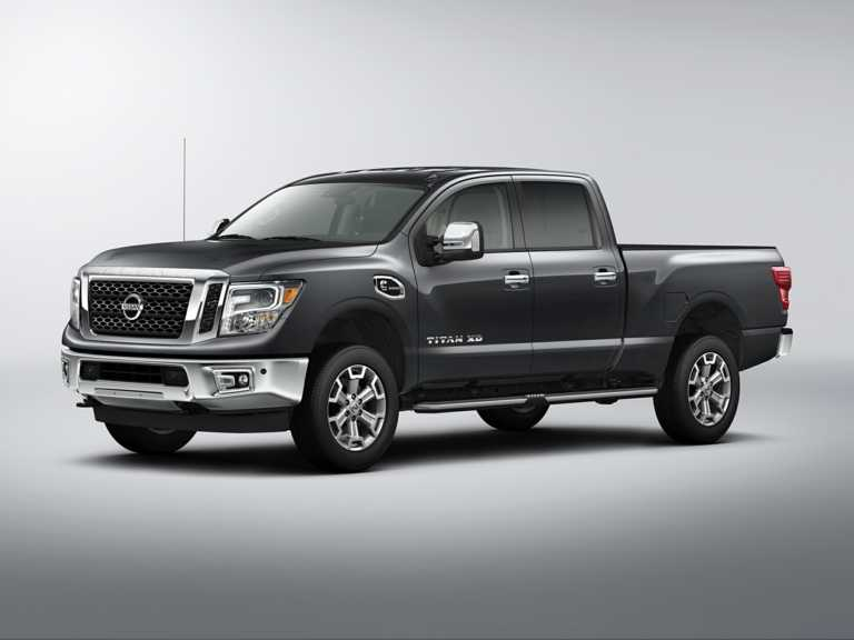 2018 Nissan Titan XD 4dr 4x2 Crew Cab 6.6 ft. box 151.6 in. WB S Diesel 1300-OEM Exterior 3/4 Front Left-Facing Primary