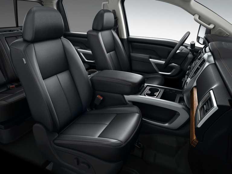 2018 Nissan Titan XD 4dr 4x2 Crew Cab 6.6 ft. box 151.6 in. WB S Diesel 1351-OEM Interior Front Seats